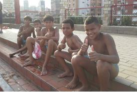 Alunos do projeto polo aquático da ACMD participam da Liga Aprendiz